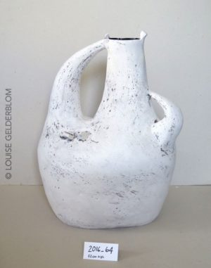 A special piece that started with thoughts about a jug, but took on a life of it's own. 52cm tall.