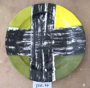 Ceramic plate Cape Town