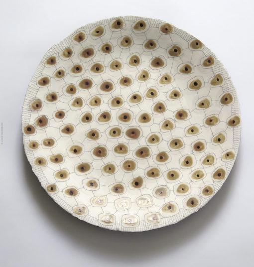 Ceramic plate for sale