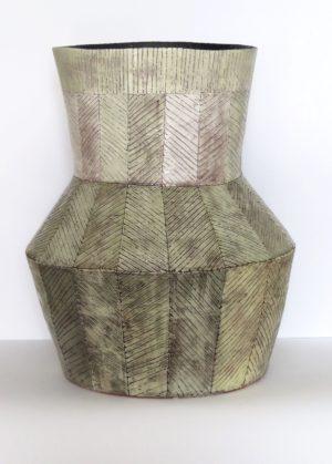 Green Ceramic Vessel